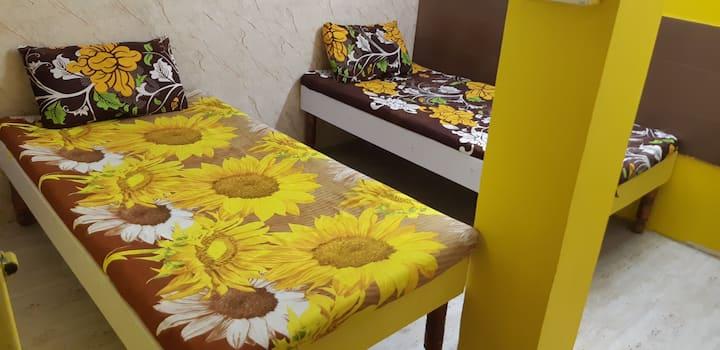 Compact room for men only Delhi  Akshardham