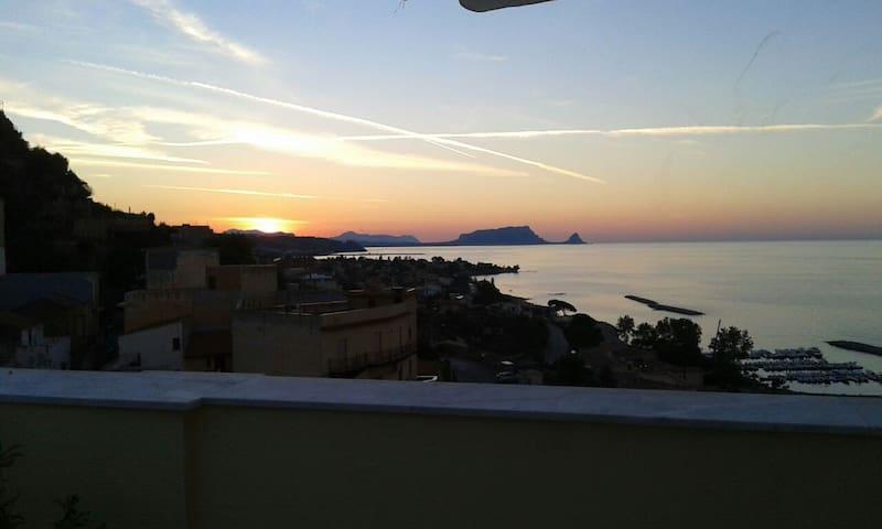 appat. vacanza in Sicilia - Trabia  - Wohnung