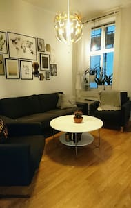 Big, bright room at Bislett, 2-4ppl - Apartment