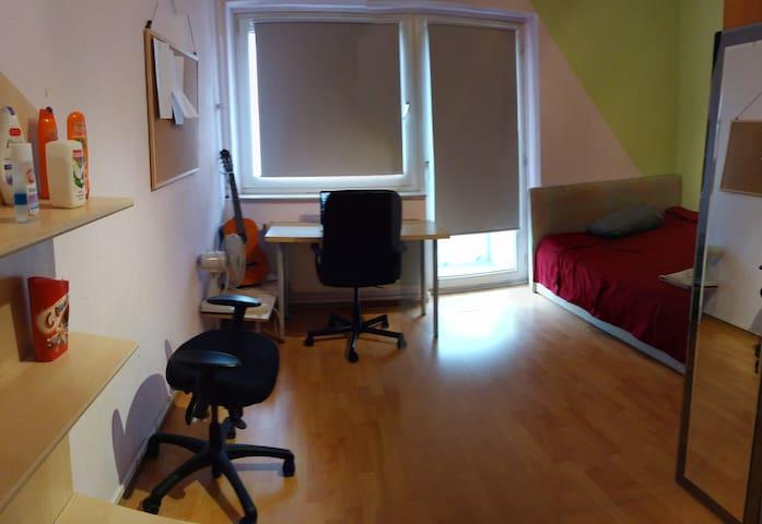 14m2 Cozy room in Sachsenhausen - Frankfurt am Main - Apartemen