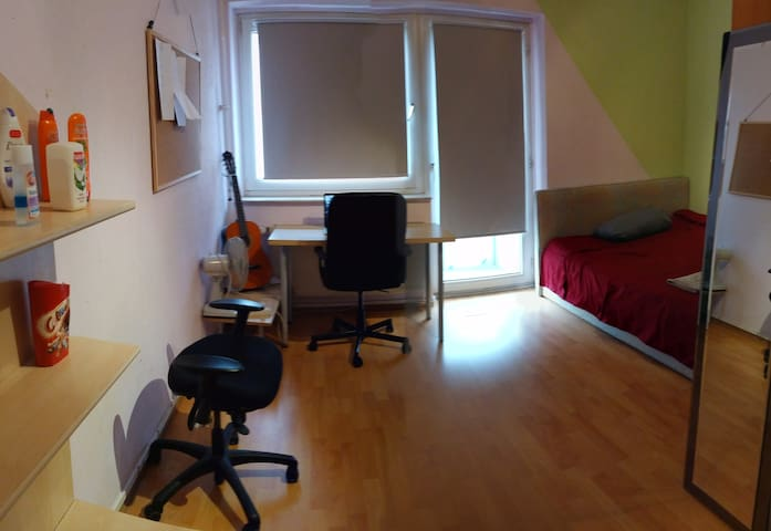 14m2 Cozy room in Sachsenhausen - Frankfurt am Main - Apartment