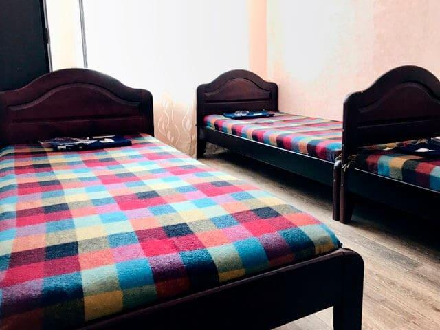 Койко-место в 3-х местном номере в хостеле Олимпия