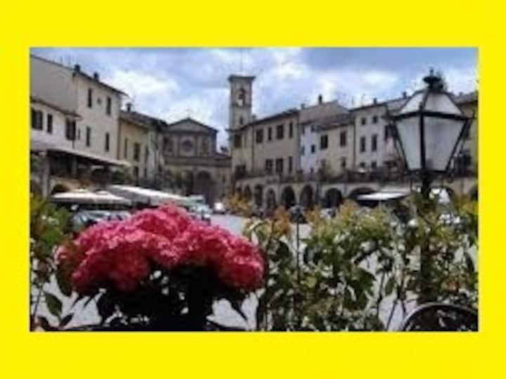 ♡ Flat with terrace in Matteotti square of Greve ♡
