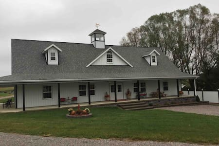 Peaceful Retreat on the TB horse farm