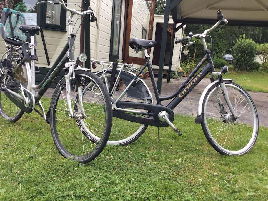 2 Gratis fietsen met kinderzitje