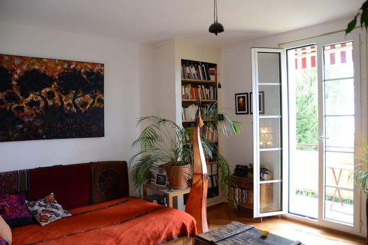 Chaleureux appartement vue sur lac Léman - Prilly - Lägenhet
