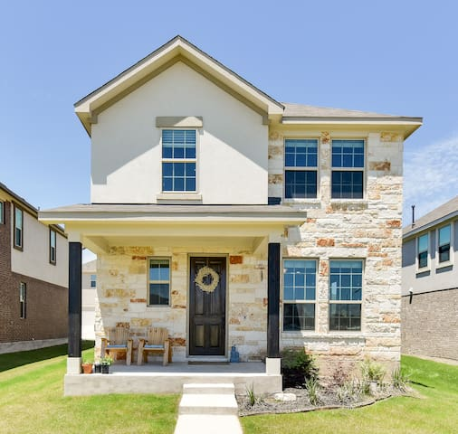 Sparkling Home in New North Austin Subdivision
