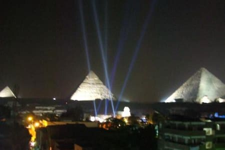 Egypt , Cairo: Nice Pyramid view