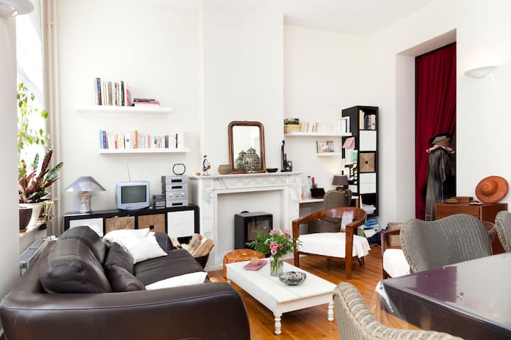 Cosy loft@Brussels North