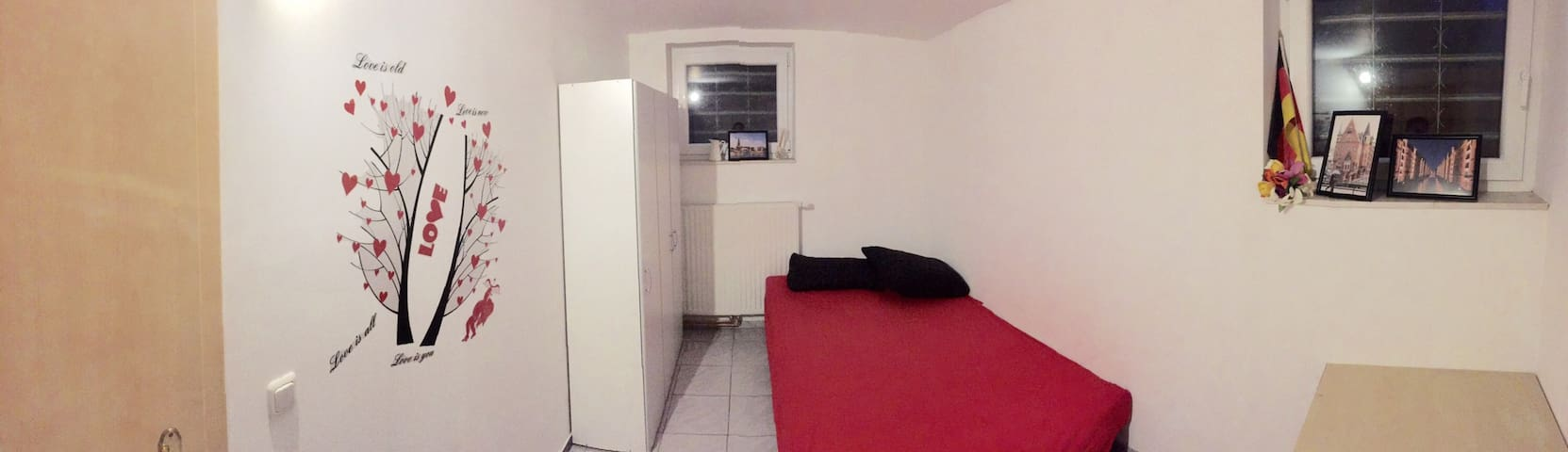 Simple-Room for 2 in Billstedt