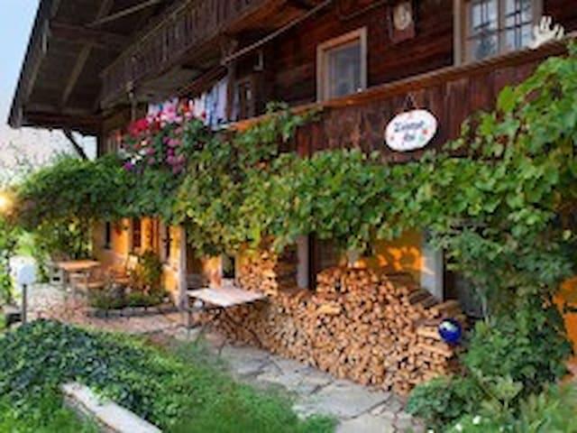 antikes Bauernhaus 15.Jh.Tirol - Rettenschöss - Hus
