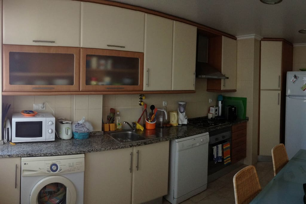Kitchen - All equipment available to use.