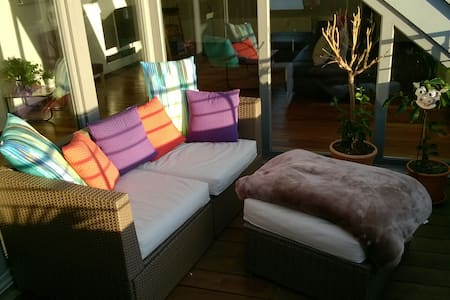 Airy, sunny loft with two floors and roof terrace - Hannover - Apartemen