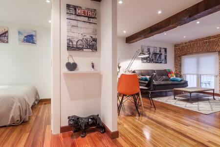 Apartamento Centrico Estilo Loft - Santander - Apartamento