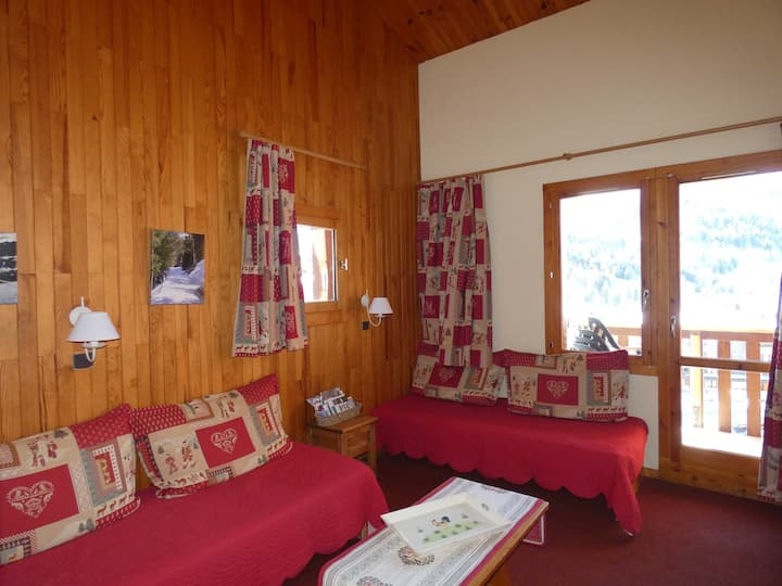 Rental in Valmorel - Crève Coeur area - 3 room apartement