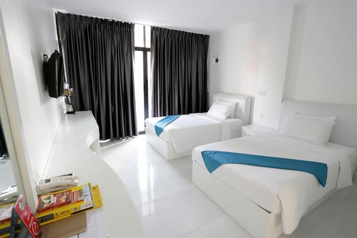 Luxury Room in the trendy BKK1 area of Phnom Penh - Phnom Penh - Boutique-hotell