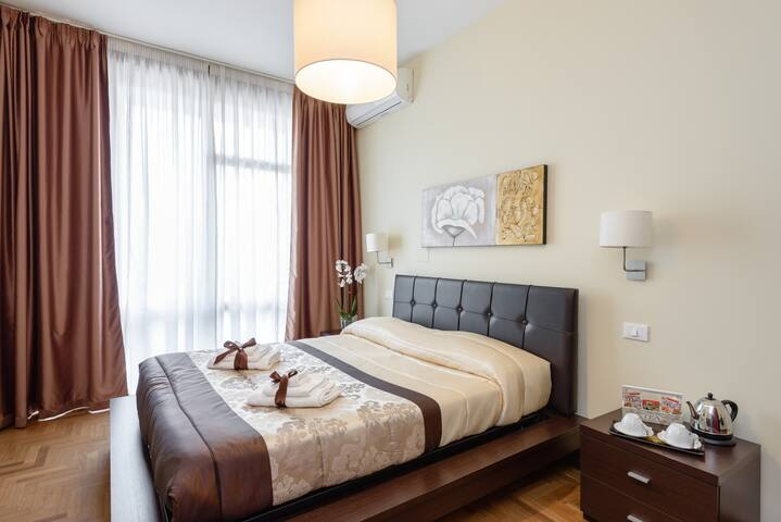 Fiore Vaticano B&B camera Ninfea - Roma - Bed & Breakfast