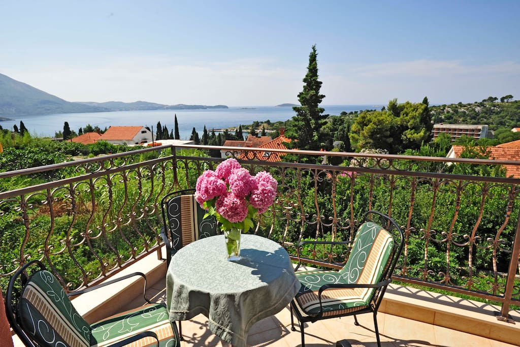 Balcony with stunning view