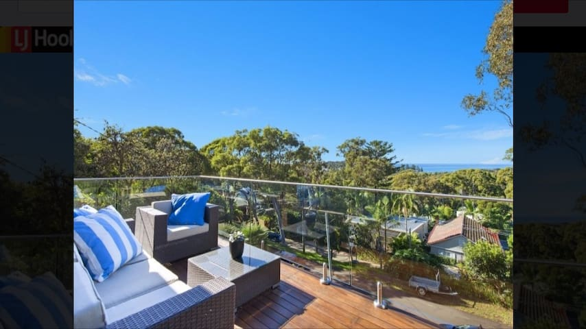 Sun filled deck - relax and enjoy the ocean views