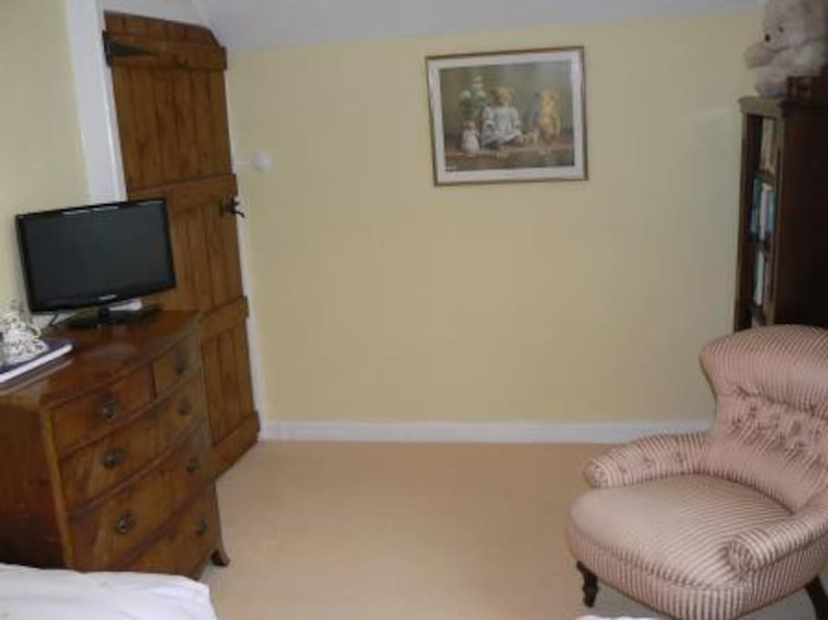Our smallest room but still very comfy and cosy and all facilities to make your visit relaxing