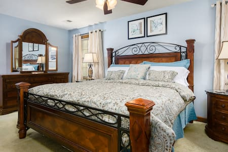 5-Star Bed&Breakfast Peaceful Master Suite - Stone Mountain