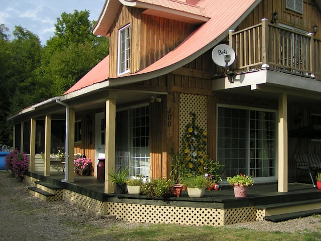 Gite Les Plaisirs Gourmands  - Saint-Gabriel-de-Brandon - Bed & Breakfast