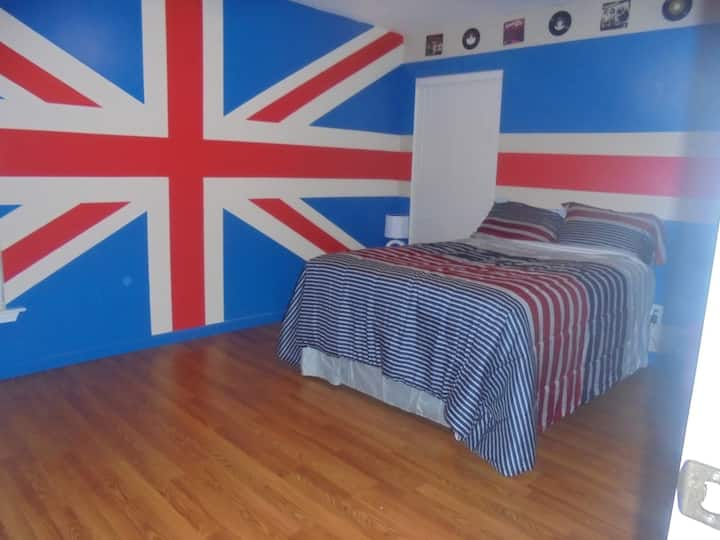 British rock room