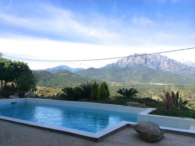 Résidence avec piscine Appt NATURE - Canavaggia - Apartamento
