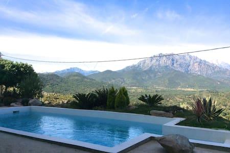 Résidence avec piscine Appt NATURE - Canavaggia