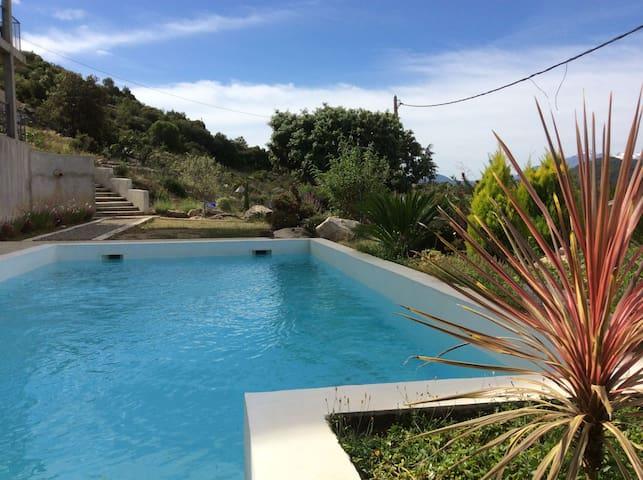 Résidence avec piscine Appt URBAN - Canavaggia - Apartemen