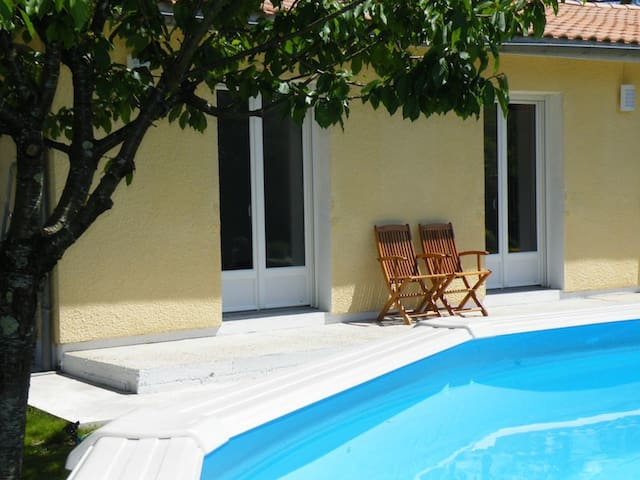 Bassin d'Arcachon - Villa piscine