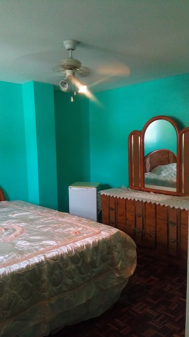Master Suite with King Bed, Huge Flat screen Television. Mini Fridge , Dresser and Large closet with ample storage