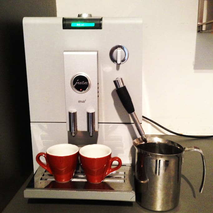 Jura Espresso machine.