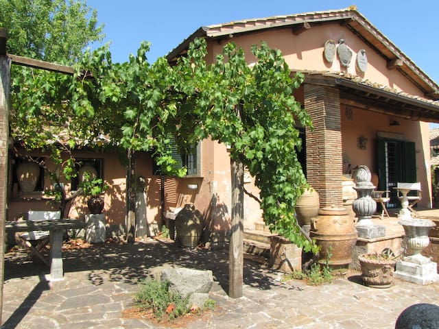 Charming cottage breathtaking views - Soriano Nel Cimino - House