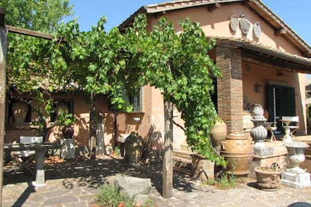 Charming cottage breathtaking views - Soriano Nel Cimino - Hus