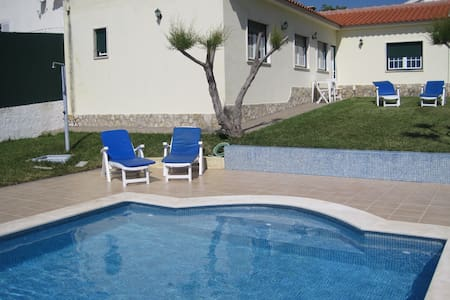 Sunset house & pool 1Km Ericeira - Ericeira - Villa