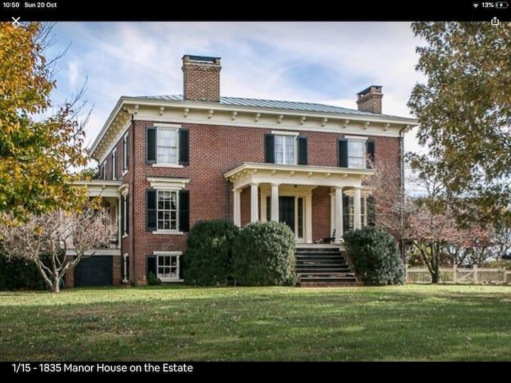 Historic Estate: The Cottage A House  Near C'ville