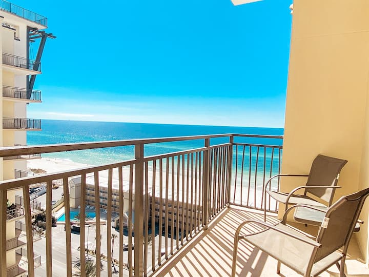 ❤️Origin 1206- Beautiful Gulf Views-Steps to Beach!