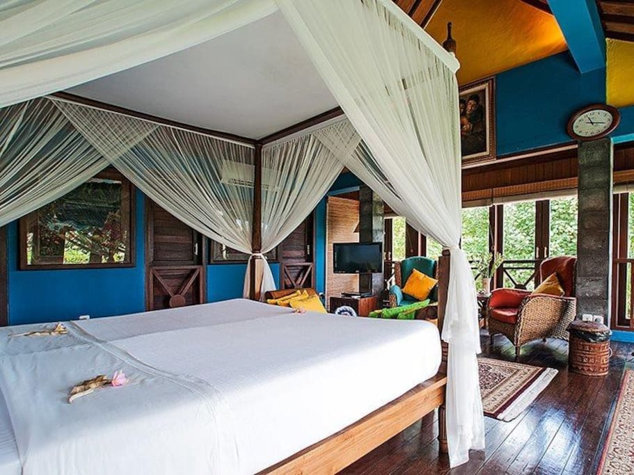 Balinese style Bedroom Suite.