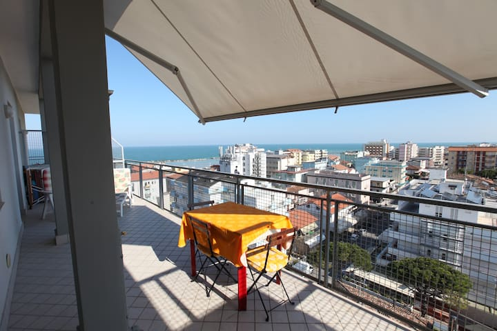 Penthouse four beds - Gatteo A Mare - Apartament
