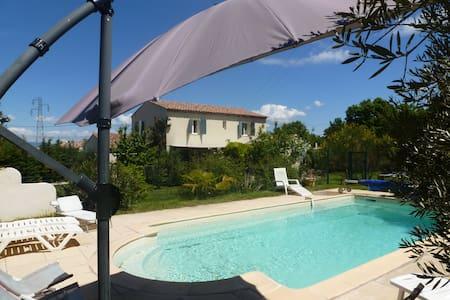 Villa piscine chauffée  pays d'Aix - Meyrargues - House