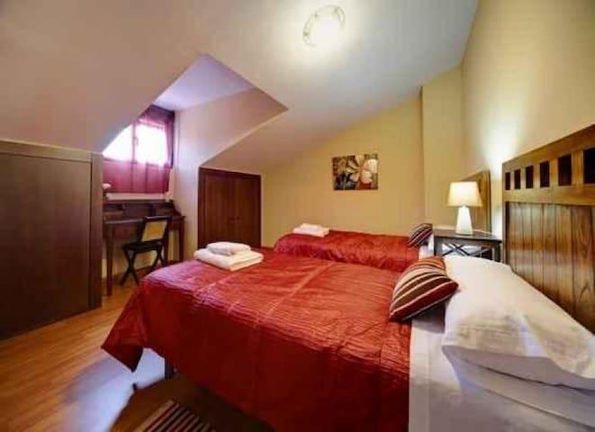 Apartamento de 2 habitaciones en el Jerte