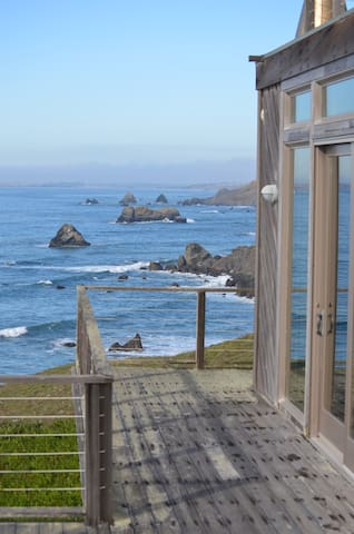 Unobstructed view looking north to Bodega Bay