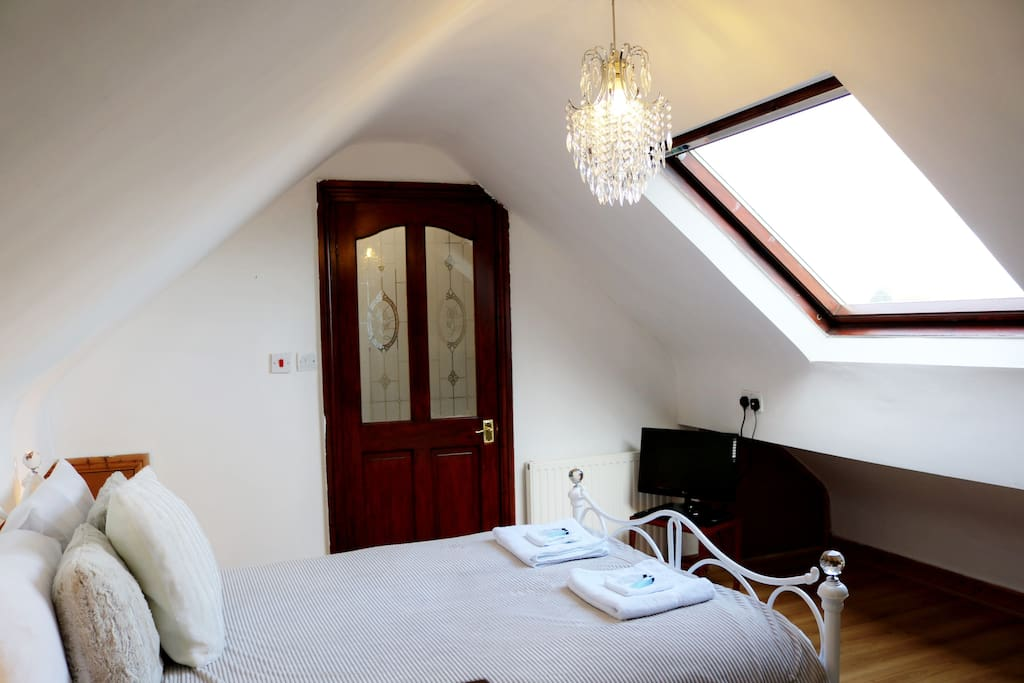 Attic Double room with Skylight