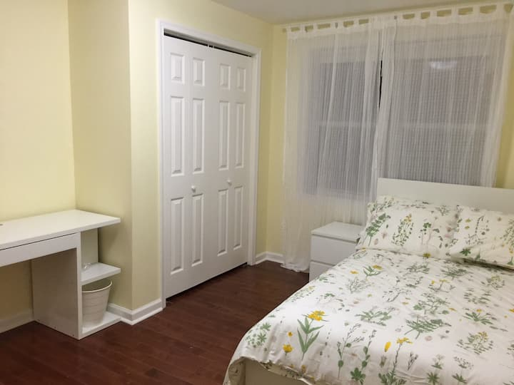 B2. Large Room with Shared Bathroom