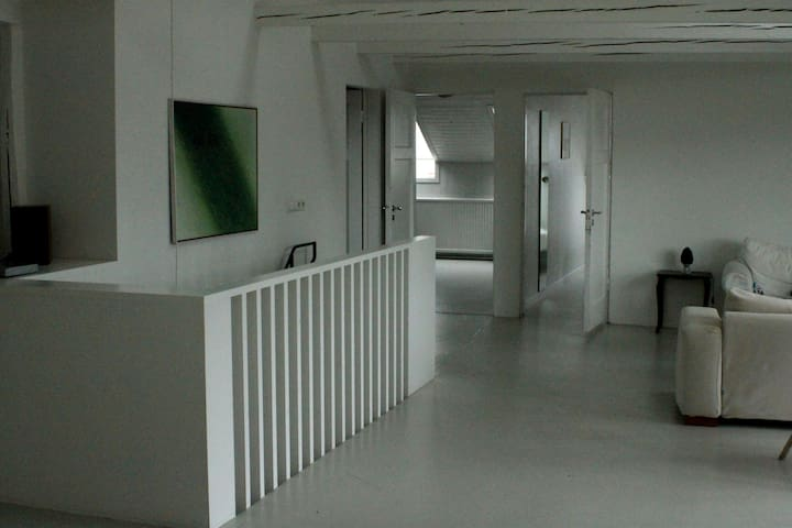 View towards three bedrooms...