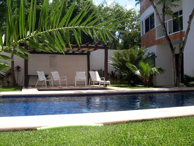 Lovely Retreat in Tulum with Pool - AC