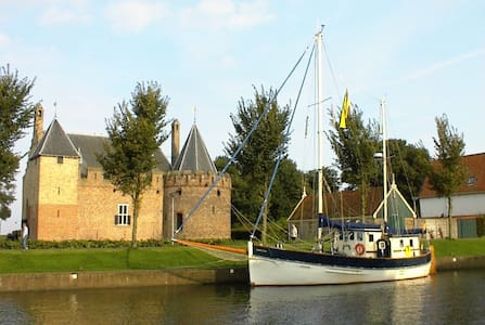Stay on our Beautiful Sailingboat - Medemblik