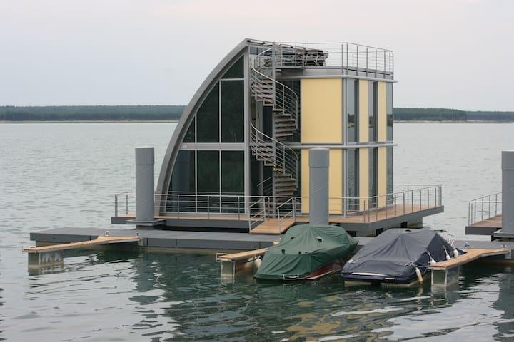 Wohndeck I im schwimmenden Haus  - Elsterheide
