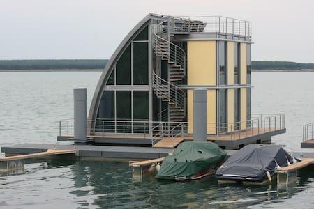 Wohndeck I im schwimmenden Haus  - Elsterheide - Daire